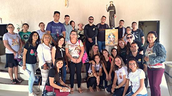 Agentes de pastoral dão início às visitas missionárias na Paróquia Senhora Sant'Ana, por ocasião do Mês Missionário Extraordinário