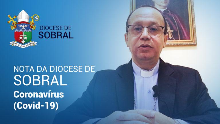 Diocese de Sobral emite nota sobre medidas preventivas contra o novo coronavírus